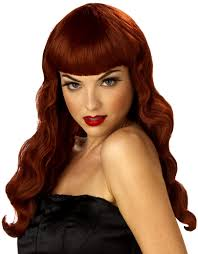 red wigs for halloween pin up wigs red wigs online