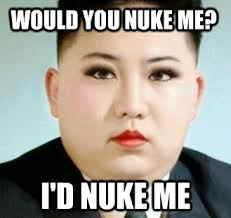 Kim Jong Un Snickers Meme - irti funny picture 4128 tags kim jong un would you nuke me id
