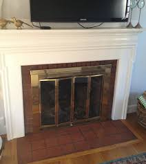 Baby Proof Fireplace Screen by Fireplace Facelift Elements Of Style Blog