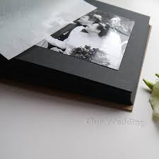 leather wedding photo album blackboard personalised leather wedding album by begolden