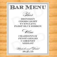 wedding drink menu template diy printable custom wedding bar menu by sweetpressstudio 12 00