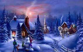 christmas backgrounds desktop group 86