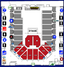 seating charts casper events center
