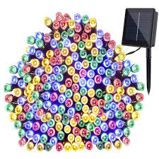 Solar Powered String Lights Patio by Gdealer Solar String Lights 72feet 200 Led 2 Modes Solar Powered