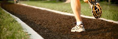 Rubber Mats For Backyard by Rubber Surfacing And Fake Mulch For Jogging Trails Xgrass