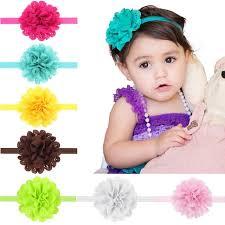 headband for babies naturalwell small girl chiffon flower headband accessories newborn