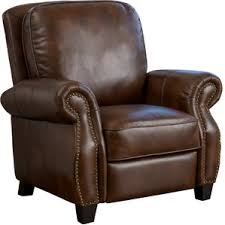 Faux Leather Recliner Push Back Recliner Chair Recliners Wayfair