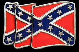 Star Flags Old Flag Cross Stars Usa Belt Buckle