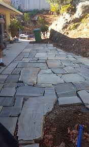 Dry Laid Flagstone Patio Weekend Project Diy Flagstone Patio The Distilled Man
