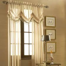 Cream Embroidered Curtains Sheer Curtain Ideas For Living Room Ultimate Home Ideas