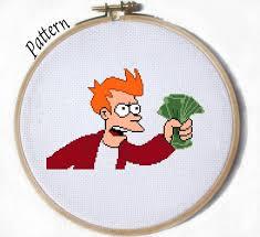Make Your Own Fry Meme - embroidery meme makaroka com