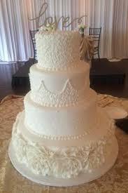 calumet bakery wrapped bling wedding cake wedding cakes