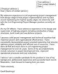 best architectural project manager cover letter images podhelp