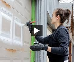 how to paint your garage door u0026 create outdoor art
