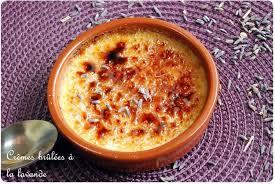 cuisine journaldesfemmes crème brûlée à la lavande recipe creme brulee and cuisine