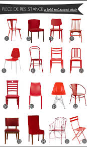 piece resistance a bold red accent chair anatomy design