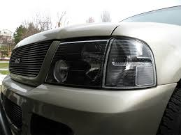 Ford Explorer Black - how to paint your headlights black ford explorer and ford