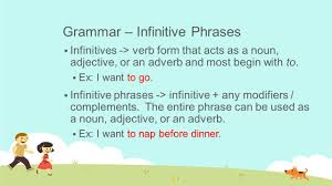 Identifying Adverbs And Adjectives Worksheets Day 39 U2013 Infinitives And Rough Draft 2 Instructor Kyle Britt