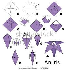 origami orchid tutorial origami iris image collections coloring pages adult