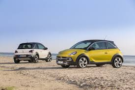 opel adam interior roof mini crossover on road to success new opel adam rocks