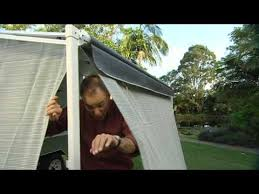 Awning Walls Aussie Traveller Afk Crr Roll Out Awning Annexe Walls Youtube