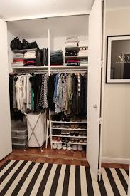 Cloth Closet Doors 20 Ideas For Organizing Your Bedroom Closet Apartment Therapy