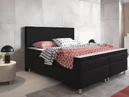 Schlafzimmer Bett Mit Matratze Inter Berlin Boxspringbett Holzrundgestell Mit Webstoff 5 Gang