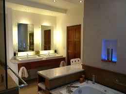 bathroom mirror side lights led bathroom mirror side lights with recessed and simple scones the