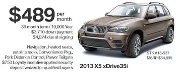 bmw x5 lease rates 2013 x5 lease special bmw car loans