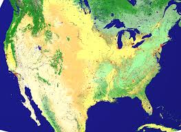 United States Snow Cover Map by Nasa Visible Earth New Land Cover Classification Maps