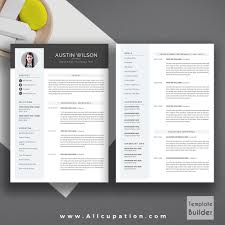 Two Page Resume Template 2 Page Resume Template Jospar