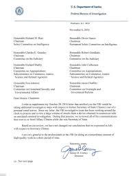 fbi will not change decision regarding hillary clinton u0027s emails