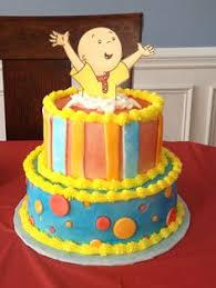 caillou birthday cake dressing ivana caillou cake food caillou cake