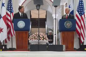 Presidents Of The United States Vice President Pence In Panama Whitehouse Gov