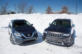 cars jeep grand cherokee 2015 jeep grand cherokee versus 2015 nissan murano news cars com