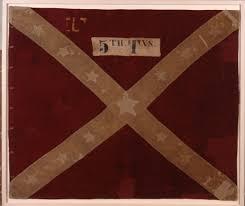 Civil War Battle Flag Battle Flags Of The 5th Texas Infantry American Civil War Forums
