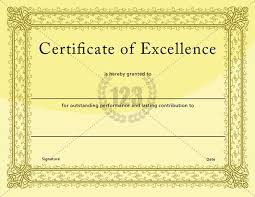 Free Certificate Of Excellence Template 9 Best Business Certificate Images On Certificate
