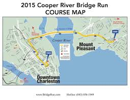 Boston Marathon Elevation Map by Cooper River Bridge Run 2014 2015 Date Registration Route Map