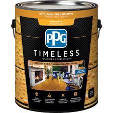 ppg timeless 1 gal tsn 51 honey pine satin semi transparent