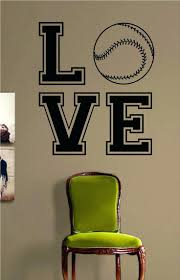 sports vinyl wall decals football no grass stain sports quote
