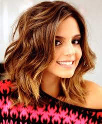 hair for thick hair pictures on to mid length hairstyles for thick hair