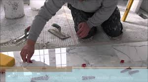 Bathroom Tile Installers 12 X24 30x60 Marble Tile Installation Using Level
