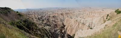 Bad Lands Badlands National Park Panoramic Views