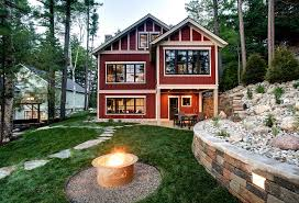 lake cabin plans lake cottage exterior ideas entrancing lake cabin plans designs