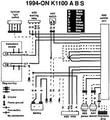 bmw k100 wiring diagram of the abs system 59468 circuit and