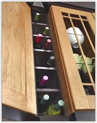 Kitchen Cabinet Wine Rack Ideas Kitchen Cabinet Wine Rack Plans Home Design Ideas