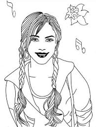 Romantic Musical Drama High School Musical Coloring Page Coloring Pages For High