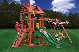 gorilla playset nantucket childrens outdoor playset wooden