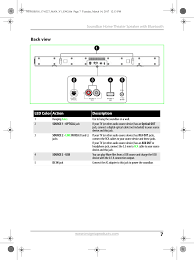 rca dvd home theater system troubleshooting hsb318 soundbar home theater speaker user manual ns hsb318 17