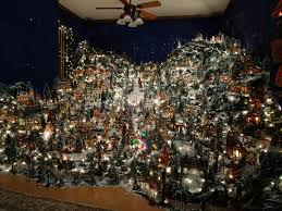 christmas villages a christmas my puts up for the holidays rebrn